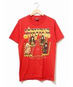 バンドTシャツ(バンドTシャツ)の古着「[古着]80's Stryper バンドTシャツ」|レッド