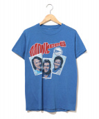 ()の古着「[古着]80's The Monkees バンドTシャツ」|ブルー