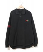 ZEPANESE CLUB(ゼパニーズクラブ)の古着「ニットポロシャツ」
