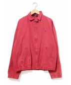 POLO RALPH LAUREN(ポロラルフローレン)の古着「[古着]スイングトップ」|レッド