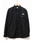 THE NORTH FACE(ザノースフェイス)の古着「ヌプシシャツ」|ブラック