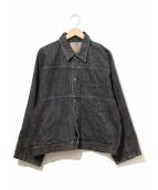 PHINGERIN(フィンガリン)の古着「デニムジャケット」|ブラック