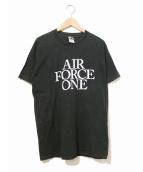 AIR FORCE ONE(エアフォースワン)の古着「[古着]90'sシネマTシャツ」|ブラック