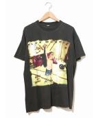 バンドTシャツ(バンドTシャツ)の古着「[古着]90's BLUE MURDER バンドTシャツ」|ブラック