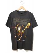 バンドTシャツ(バンドTシャツ)の古着「[古着]90'sTHIN LIZZYバンドTシャツ」|ブラック