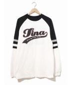 tina turner(ティナ・ターナー)の古着「[古着]90'sアーティストロンTEE」|ホワイト×ブラック