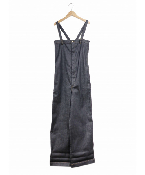 TRUE NYC(トゥルーニューヨーク)TRUE NYC (トゥルーニューヨーク) サロペット インディゴ サイズ:27表記の古着・服飾アイテム