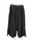 ()の古着「レーヨンカラスパンツ」|ブラック