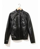 A.P.C.(アーベーセ)の古着「レザージャケット」 ブラック