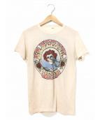 バンドTシャツ(バンドTシャツ)の古着「[古着]70's Grateful Dead バンドTシャツ」|ベージュ