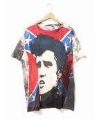 バンドTシャツ(バンドTシャツ)の古着「[古着]ヴィンテージモスキートヘッドTシャツ」|グレー