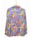 WACKO MARIA (ワコマリア) レーヨンアロハシャツ ブルー×イエロー サイズ:M 19SS HAWAIIAN SHIRT L/S TYPE-6:9800円