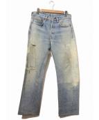LEVIS(リーバイス)の古着「[古着]ヴィンテージ デニム パンツ」|インディゴ