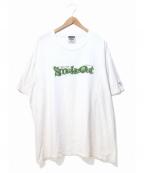 ラップTシャツ(ラップTシャツ)の古着「[古着]90sHIPHOP Tシャツ」|ホワイト