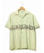 HOLIDAY(ホリデイ)の古着「[古着]ヴィンテージS/Sシャツ」|グリーン