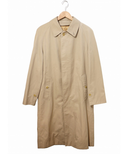 Burberrys(バーバリーズ)Burberrys (バーバリーズ) [OLD]英国製ステンカラーコート ベージュ サイズ:表記なし ライナー付の古着・服飾アイテム