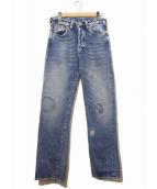 LEVIS VINTAGE CLOTHING(リーバイス ヴィンテージ クロージング)の古着「501XX復刻デニムパンツ」|インディゴ