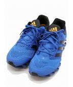 adidas(アディダス)の古着「SPRINGBLADE DRIVE」|ブルー