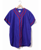 VINTAGE(ヴィンテージ/ビンテージ)の古着「[古着]ヴィンテージベースボールシャツ」|ネイビー