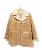 LEE(リー)の古着「[古着]70sボアスエードランチコート」|ブラウン
