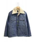 ()の古着「[古着]70'sデニムボアジャケット」 インディゴ
