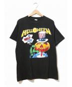 ()の古着「[古着]80's HELLOWEEN バンドTシャツ」|ブラック