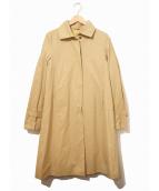 JIL SANDER(ジルサンダー)の古着「スナップボタンコート」|ベージュ