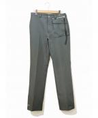 PORTVEL(ポートヴェル)の古着「WORK PANTS TYPE-4」 グリーン