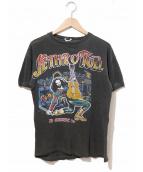バンドTシャツ(バンドTシャツ)の古着「[古着]70'sバンドTシャツ jethro tull」|ブラック