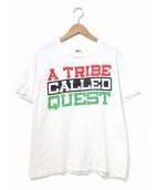 ラップTシャツ(ラップTシャツ)の古着「[古着]HIP-HOP Tシャツ」 ホワイト