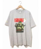 ラップTシャツ(ラップTシャツ)の古着「[古着]HIP-HOP Tシャツ」 グレー