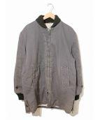 penneys(ペニーズ)の古着「[古着]ジップアップファラオジャケット / カーコート」|グレー×ブラック