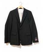 Robes&Confections(ローブスアンドコンフェクションズ)の古着「ウールトロピカルテーラードジャケット」|ブラック