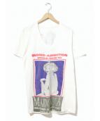 MADONNA(マドンナ)の古着「[古着]90sマドンナTシャツ」|ホワイト