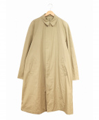LONDON FOG(ロンドンフォグ)の古着「[古着]ステンカラーコート」 ベージュ