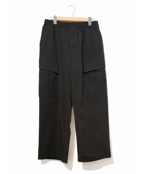 DAIWA PIER 39(ダイワピア39)DAIWA PIER 39 (ダイワピア39) ルーズストレッチ6Pミルパンツ ブラック サイズ:M Loose Stretch 6P Mil Pantsの古着・服飾アイテム