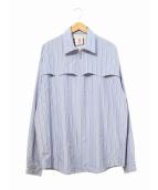 SON OF THE CHEESE(サノバチーズ)の古着「ウエスタンシャツ」|ブルー