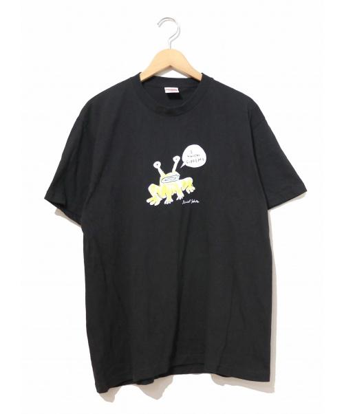 Supreme(シュプリーム)Supreme (シュプリーム) フロッグTシャツ / Frog Tee ブラック サイズ:M 20SS ×Daniel Johnston(ダニエルジョンストン)の古着・服飾アイテム