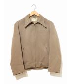H BAR C(エイチバーシ)の古着「[古着]ヴィンテージウエスタンギャバジャケット」|ベージュ