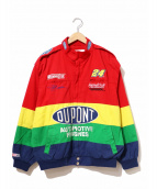JEFF HAMILTON(ジェフハミルトン)の古着「[古着]レーシングジャケット」|マルチカラー