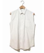 Dior Homme(ディオールオム)の古着「ノースリーブシャツ」|ホワイト