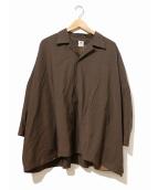 SASQUATCHfabrix.(サスクワァッチファブリックス)の古着「スーパービッグシャツ」|ブラウン