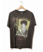 バンドTシャツ(バンドTシャツ)の古着「[古着]THE CURE 80'sバンドTシャツ」|ブラック