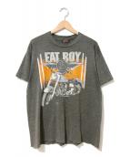 ()の古着「[古着]90'sハーレーTシャツ」 グレー