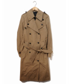 KRIS VAN ASSCHE(クリスヴァンアッシュ)の古着「トレンチコート」|ベージュ