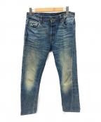 LEVI'S VINTAGE CLOTHING(リーバイスヴィンテージクロージング)の古着「復刻セルビッチデニムパンツ」 インディゴ