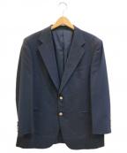 Burberry's(バーバリーズ)の古着「[OLD]金ボタンブレザーテーラードジャケット」 ネイビー