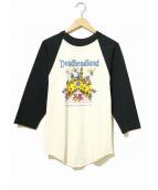バンドTシャツ(バンドTシャツ)の古着「[古着]Grateful DeadバンドロンTEE」|ホワイト×ブラック