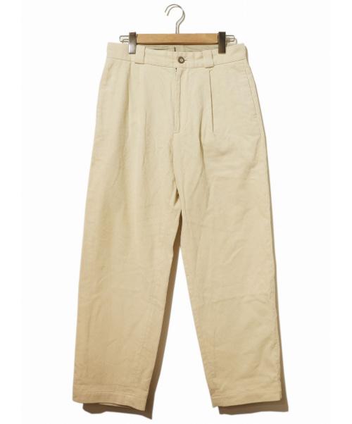 TONE(トーン)TONE (トーン) コーデュロイパンツ ベージュ サイズ:1表記 19AWの古着・服飾アイテム