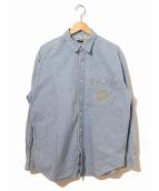 ()の古着「[古着]90'sディズニーデニムシャツ」|インディゴ